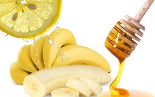 Банан с медом от кашля — рецепты приготовления лекарства