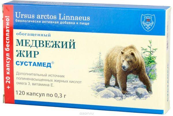 Как принимать медвежий жир от кашля детям и взрослым?