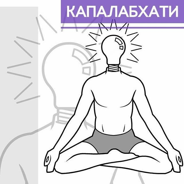 Пранаяма капалабхати: как правильно делать упражнения