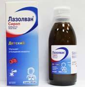 Сироп и таблетки от кашля Лазолван: инструкция по применению