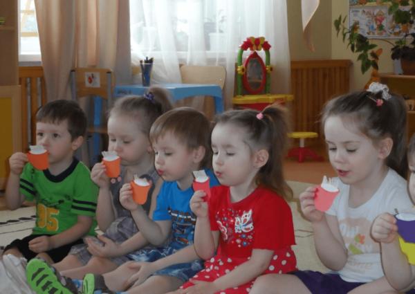 Дыхательная гимнастика в детском саду: задачи, атрибуты