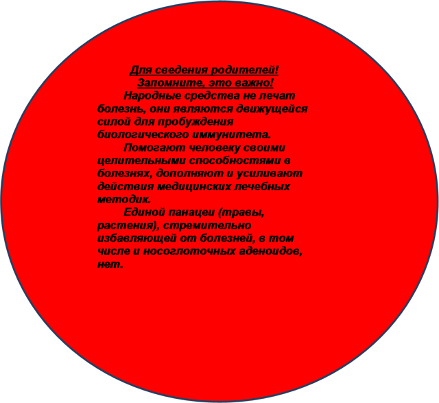 Эффективно ли лечение аденоидов народными средствами?