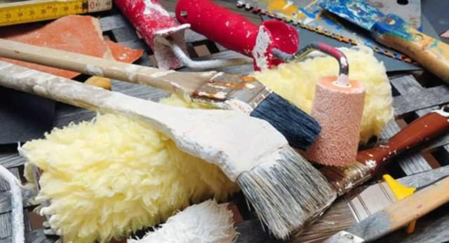 Запах краски во время ремонта: чем вреден, особенности