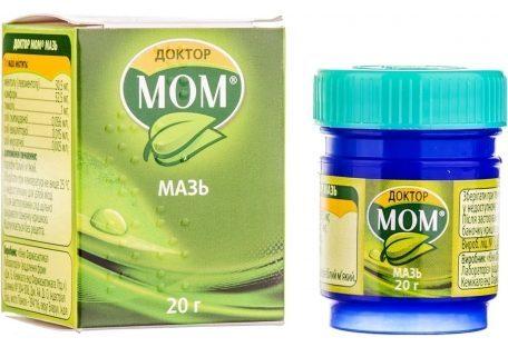 Инструкция по применению сиропа и мази Доктор Мом