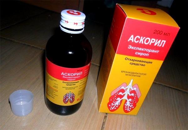 Аскорил сироп и таблетки от кашля: инструкция по применению