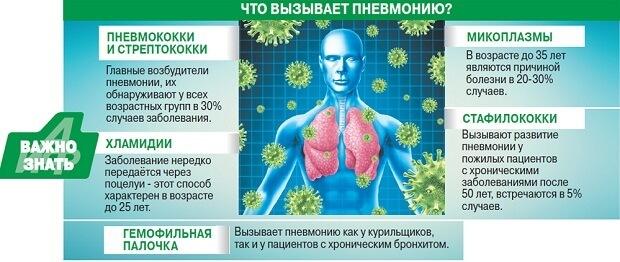 Застойная пневмония у лежачих больных и пожилых людей: лечение, профилактика