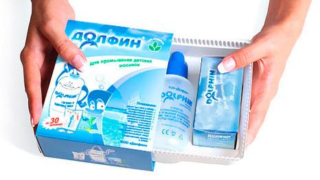Долфин при гайморите: показания, инструкция по промыванию носа