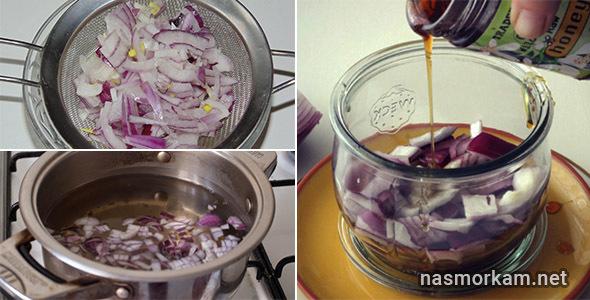 Лук с медом от кашля для детей и взрослых: рецепты