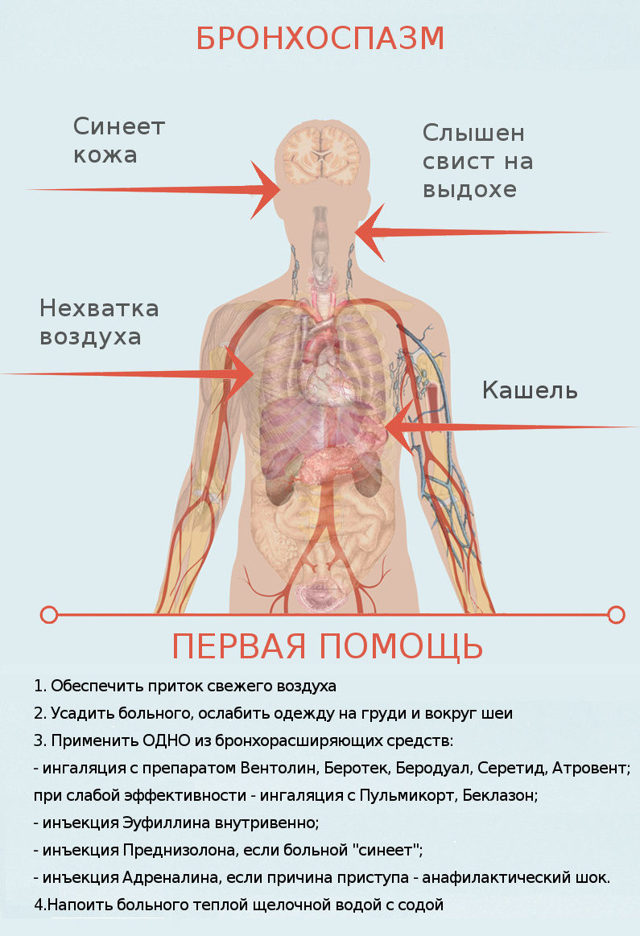 Персистирующая астма: причины возникновения и лечение