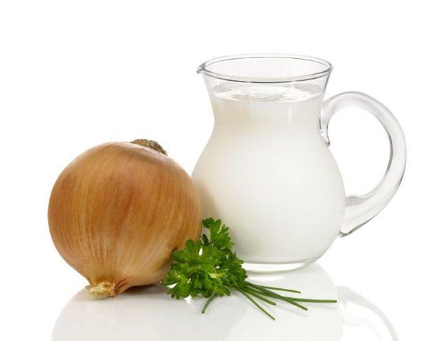 Как правильно принимать молоко с луком от кашля?