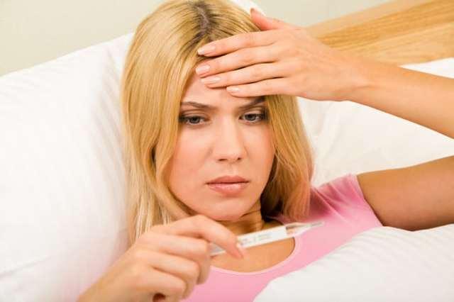 Почему держится температура после пневмонии?