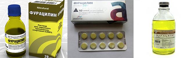 Фурацилин при гайморите: можно ли промывать