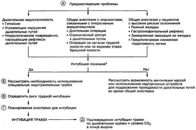Интубация трахеи: показания, осложнения, алгоритм проведения